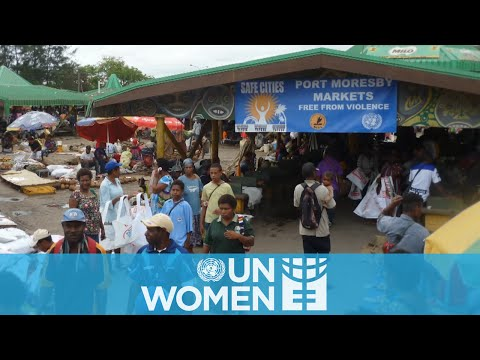 Safe markets for women vendors in Papua New Guinea