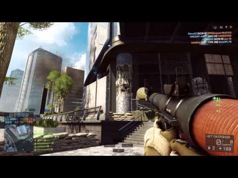 Снос небоскреба в Battlefield 4