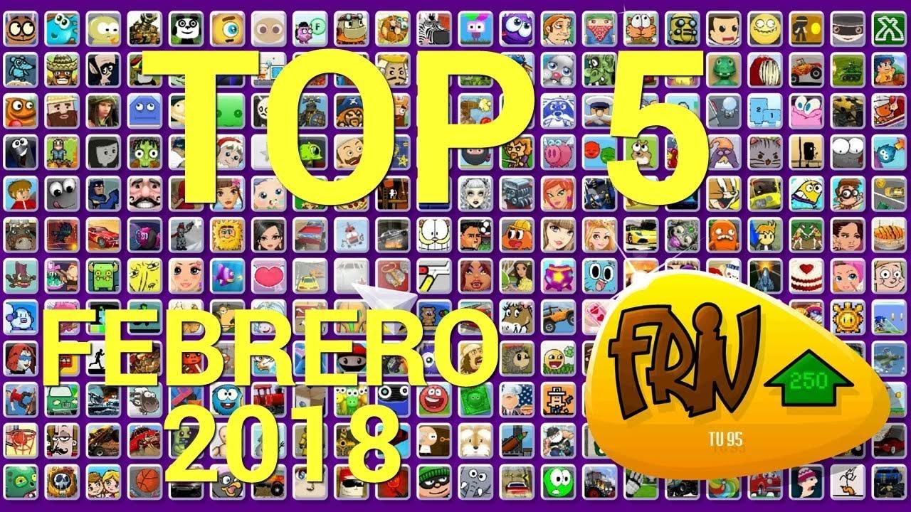 Top 5 Mejores Juegos Friv Com De Febrero 2018 Youtube
