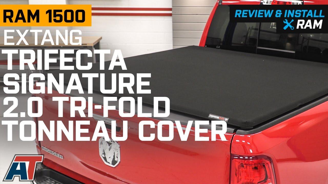 2019 Ram 1500 Extang Trifecta Signature 2 0 Tri Fold Tonneau Cover