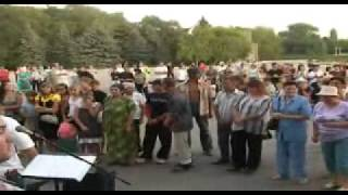 Chaplinka, Ukraine open air crusade