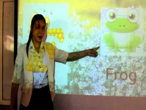 สื่อการเรียนการสอนภาษาอังกฤษสำหรับเด็กปฐมวัยมดอกไม้