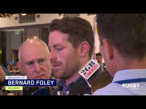 Wallabies arrive home from final Bledisloe Test