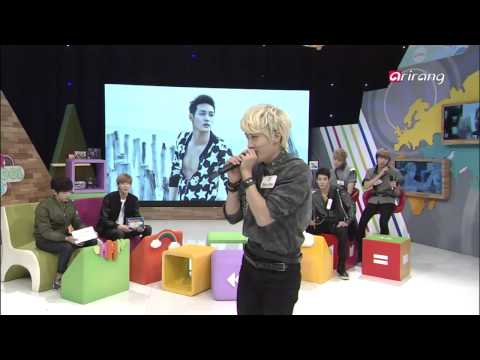 After School Club-Prince mak does beatbox and sings at the same time비트박스와 노래를