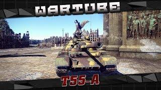 Т-55А - 'Нагиб там, где не ждали' | War Thunder