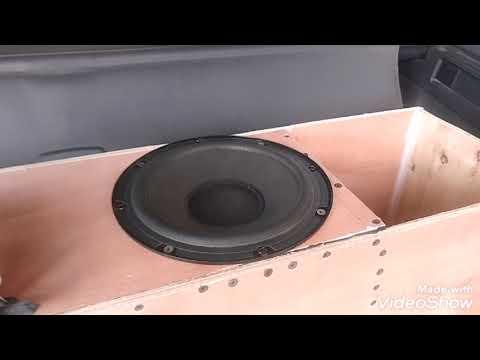 Вы офигеете от мощи этого рупорного сабвуфера. Horn Subwoofer Amazing Sound From Cheap 20sm Spea