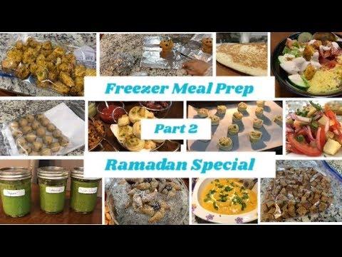 Freezer Meal Prep Part 2  Indian Meal Prep 2019