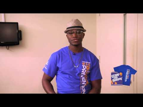 Taye Diggs BLUE SHIRT DAY® WORLD DAY OF BULLYING PREVENTION 2015