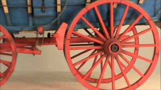 Conestoga Wagon Model Kit From Model Expo