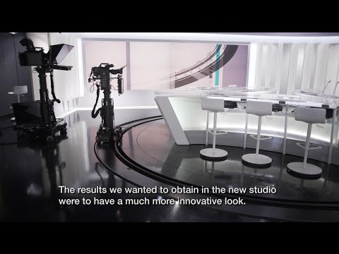 RTS - News Studio Production with Robotic Camera Systems Case Study, by Ross Video