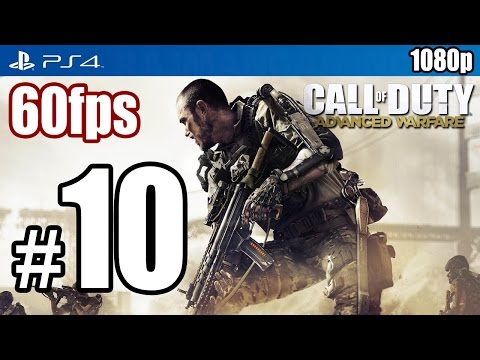 Call of Duty Advanced Warfare (PS4) Walkthrough PART 10 60fps [1080p] Lets Play TRUE-HD QUALITY