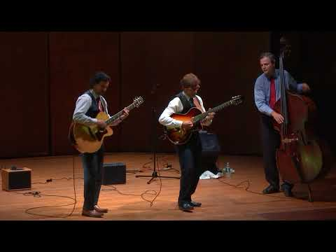 Frank Vignola's Hot Jazz Guitar Trio at the Norfolk Chamber Music Festival