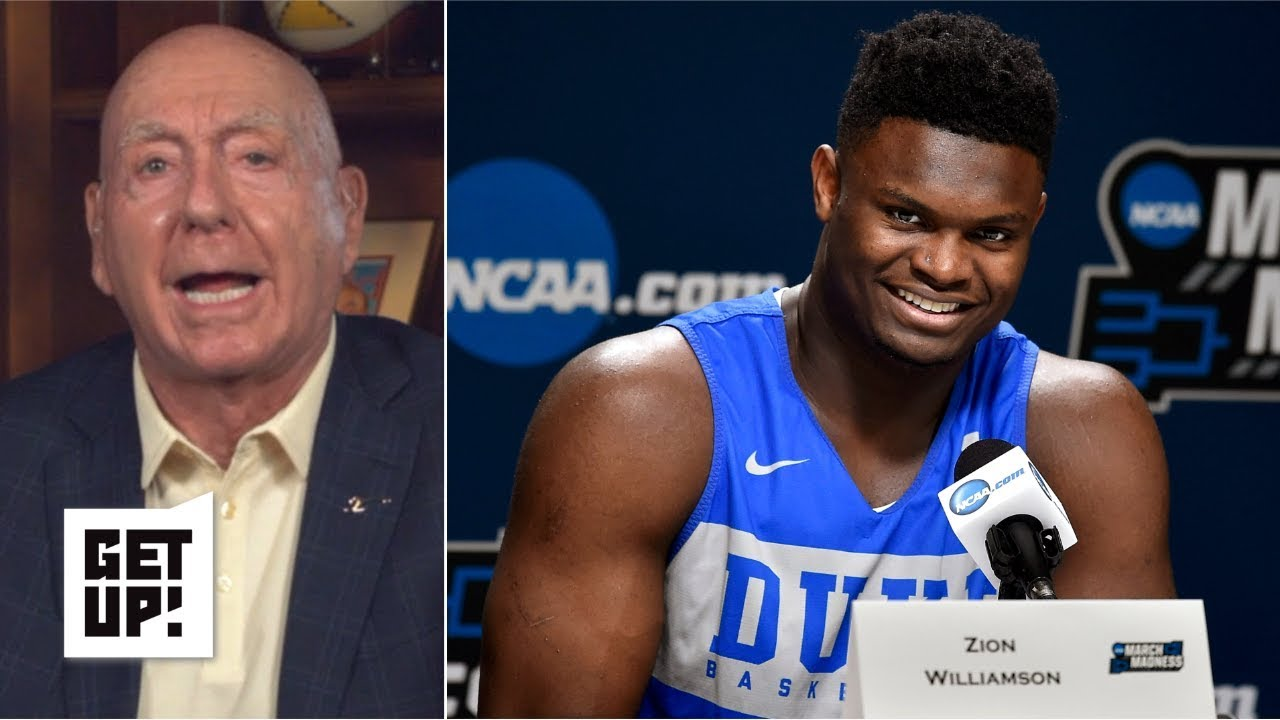 Zion 'has saved college basketball this year', deserves to get paid - Dick Vitale | Get Up ...