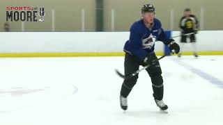 Nathan MacKinnon summer training