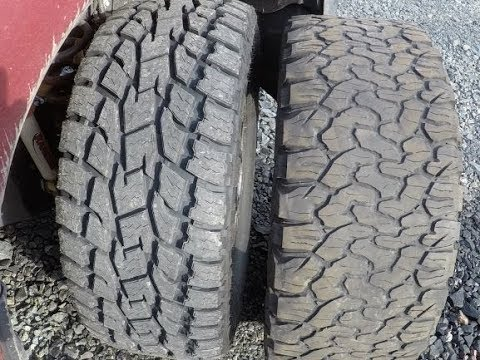 Replaced Bfg Ko2s On My Powerstroke With Toyo Open Country