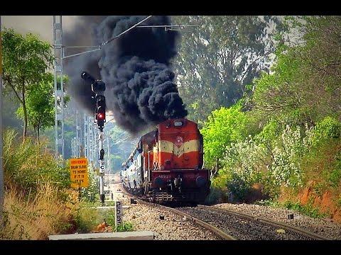 The SMOKING ALCO Locomotives - Indian Railways
