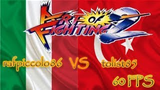 FightCade - Art of Fighting 2: rafpiccolo86 (Italy) vs tolist85 (Turkey)[60 FPS]