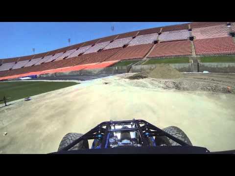 Stadium Super Trucks LA Coliseum Practice