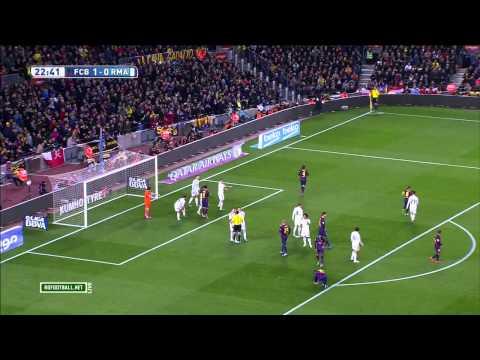 Барселона - Реал Мадрид 1 тайм HD