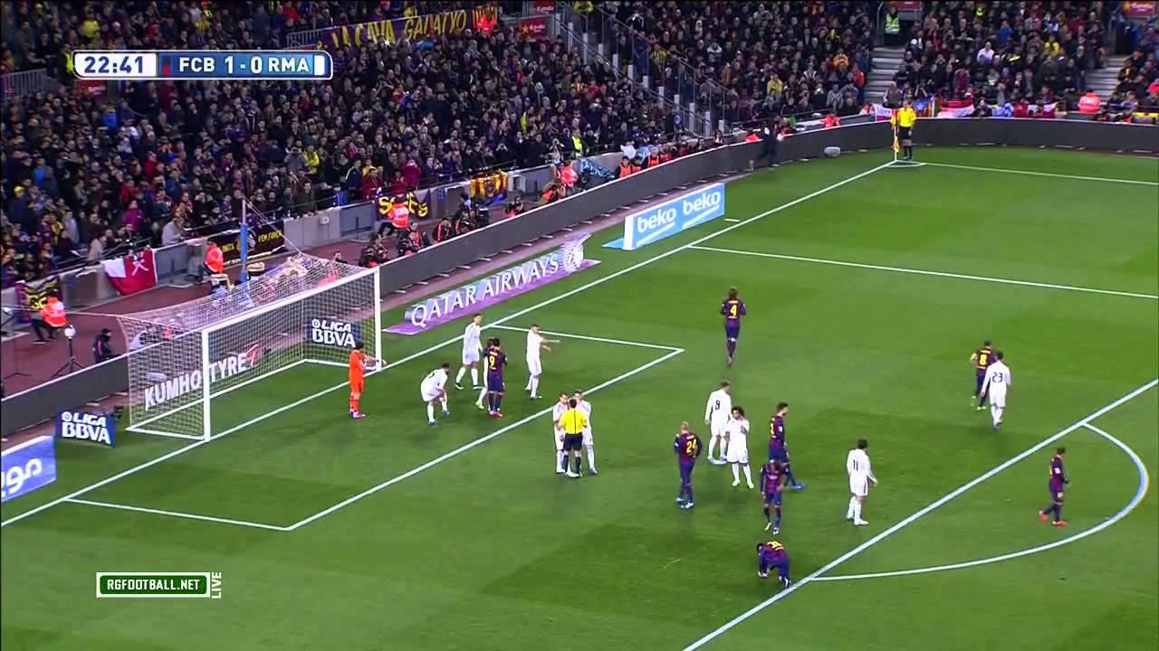 Барселона реал мадрид 1 тайм