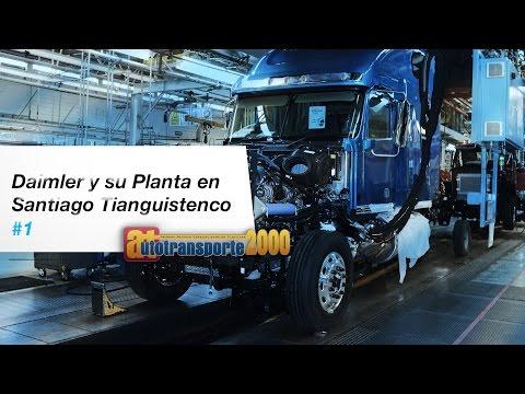 Daimler y su Planta en Santiago Tianguistenco