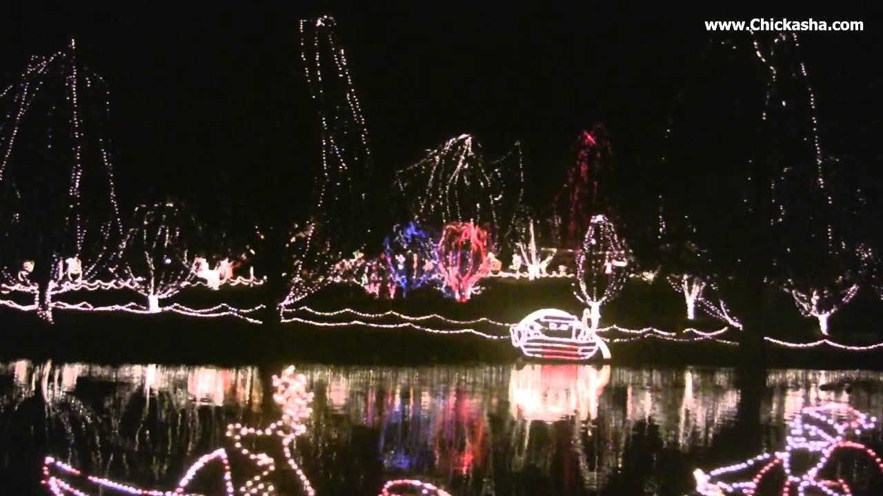 2011 chickasha festival of light christmas lights shannon springs park chickasha ok 73018 - Chickasha Christmas Lights