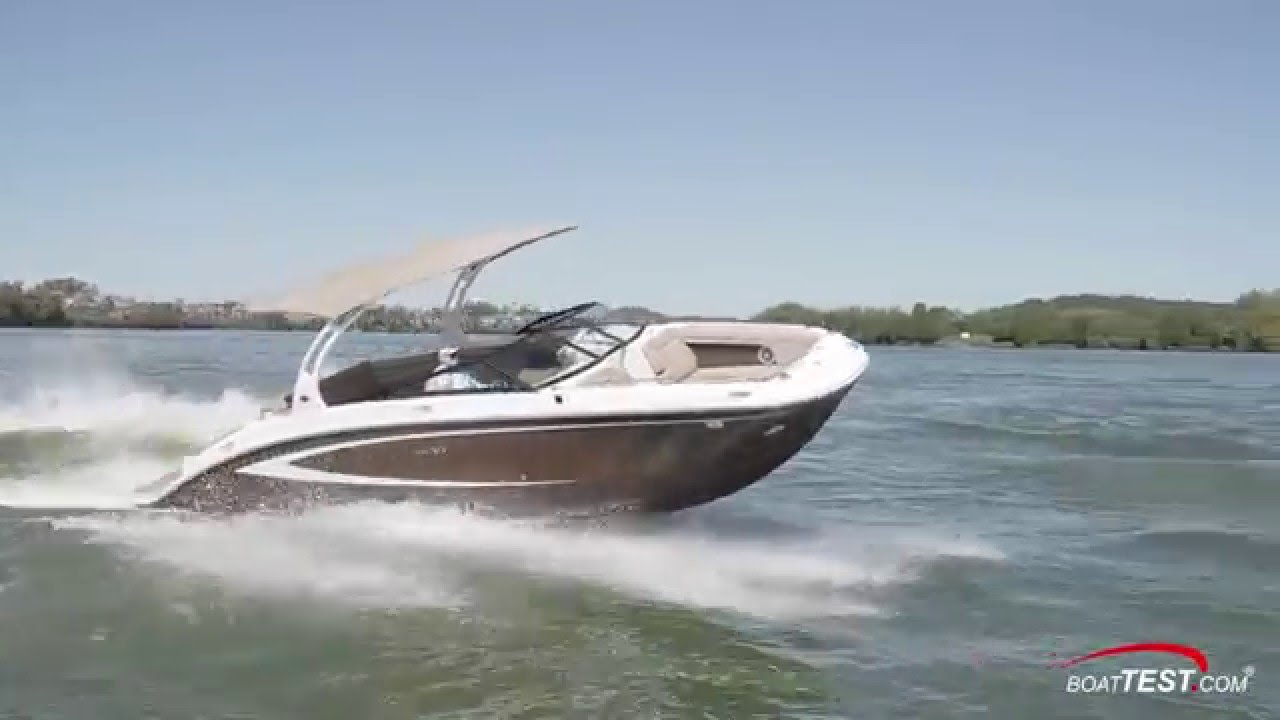 Sea Ray 270 Sundeck (2016-) Test Video- By BoatTEST com