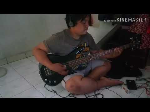 BELAJAR Bass Cover Dangdut -  Qais Dan Laila