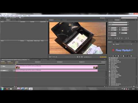 Adobe Encore Basics 1: Getting Sequences Into Encore