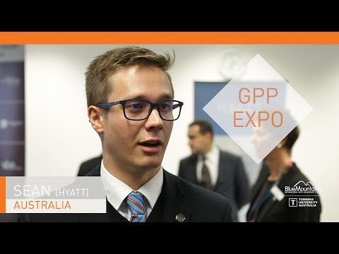 Sean, student, GPP Expo, Hyatt