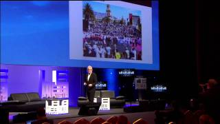 LeWeb 2010 -  Mel Young, Co-Founder, Homeless World Cup - Making a Difference