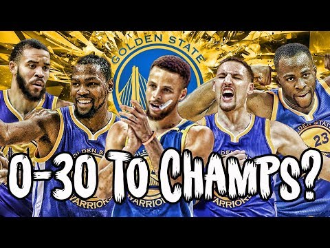Could The Warriors Start 0-30 And Still Win An NBA Title?