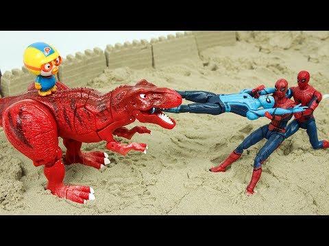 공룡 헬로카봇 티라클래스 공룡카봇 뽀로로 장난감 로봇 변신 놀이 Hello Carbot Toys Dinosaur Tyrannosaurus Robot