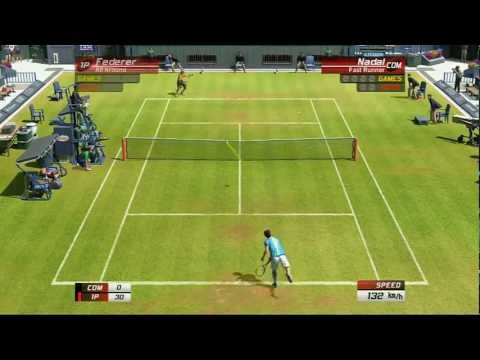 Virtua Tennis 3: Singles Match: Roger Federer VS Rafael Nadal - PS3 Gameplay | Daxter296Plays