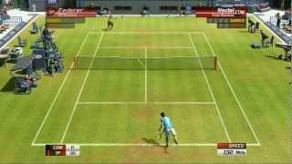Virtua Tennis 3: Singles Match: Roger Federer VS Rafael Nadal - PS3 Gameplay   Daxter296Plays