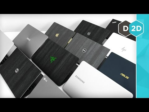 Top 10 - The Best Thin and Light Laptops! (2017)