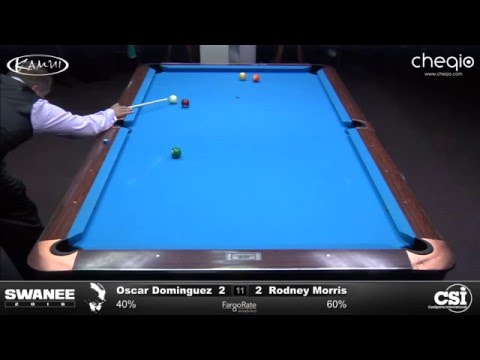 2016 Swanee: Oscar Dominguez vs Rodney Morris (Final!)