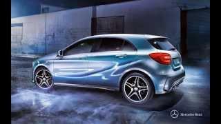 2015 Mercedes-benz A-class(Настоящий «Мерседес». И всё же совсем-совсем другой. Новый автомобиль А-Класса просто поражает своим свежим..., 2014-08-28T17:10:41.000Z)