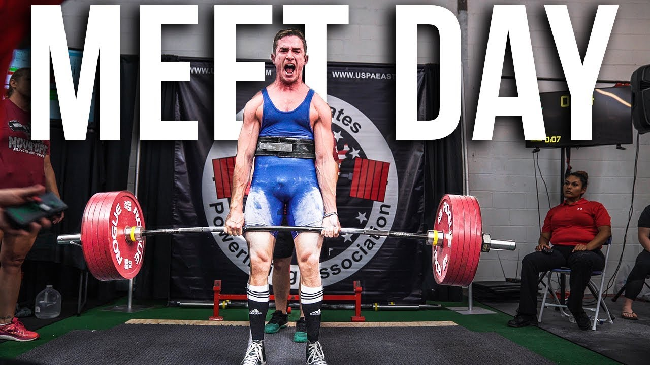 my powerlifting competition youtube