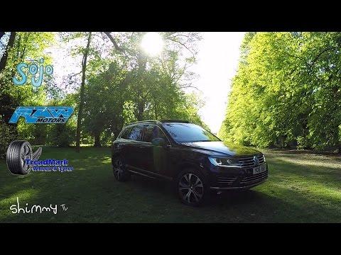 VW Touareg V6 TDI R-Line Shimmy Tv Review!!!