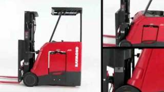 Toyota-Raymond Stand-Up Counterbalanced Forklift