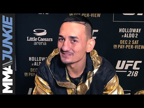 UFC 218: Max Holloway full media day interview