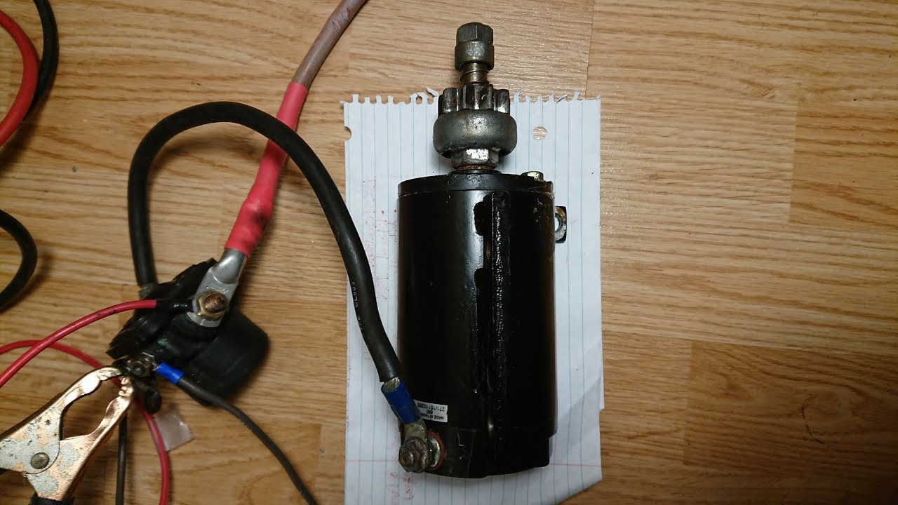 Wire Starter Solenoid Diagram on