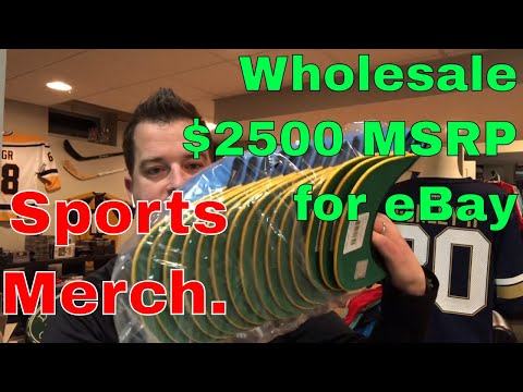 New with Tags: $2,574 Value NFL Snapback Hats Wholesale Purchase for Resell on eBay