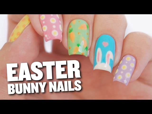 How to Do Bunny Ear Nail Art for Easter | TipHero