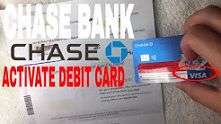 ✅  How To Activate Chase Bank Debit Card ?