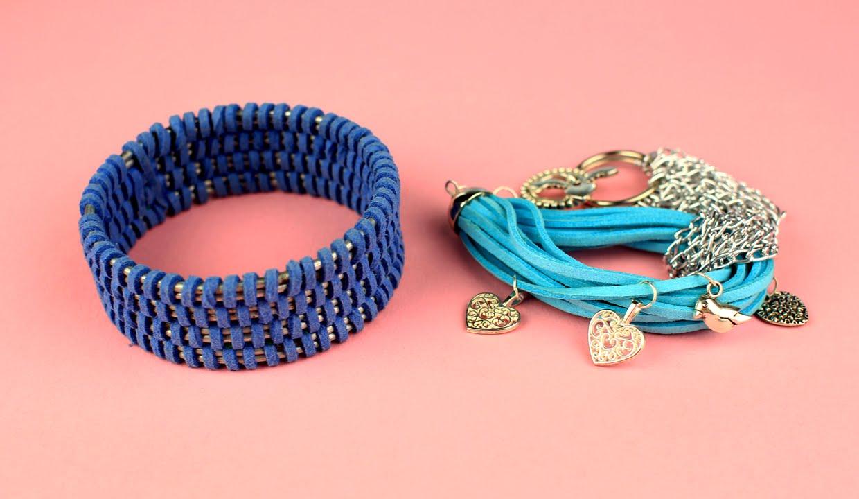 Плетеные браслеты из шнура своими руками