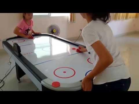 โต๊ะแอร์ฮ๊อกกี้ (Air Hockey) ระบบไฟฟ้า จอLED