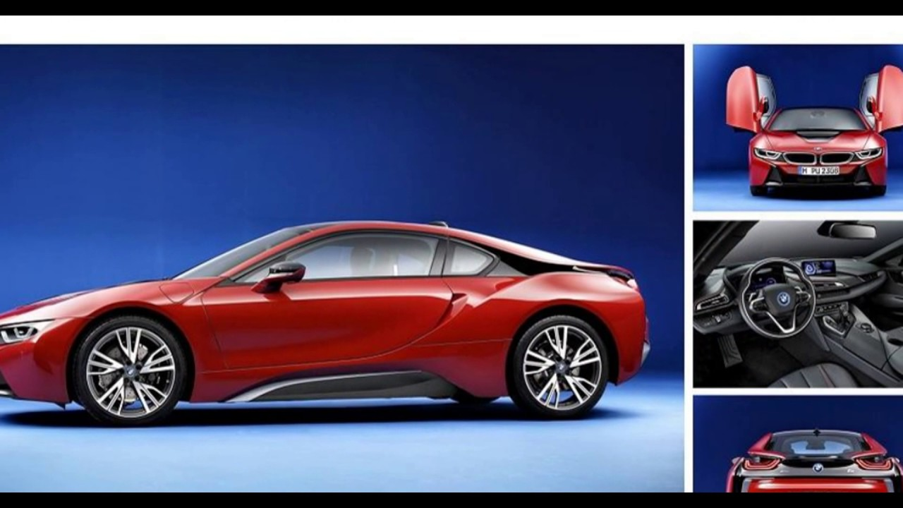 The All New 2018 Bmw I8 Protonic Red Edition Youtube