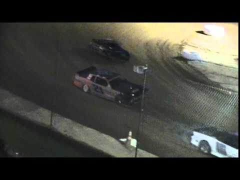 Crowley's Ridge Raceway 6/20/15 #21 Chris Sims Street Stock Heat Race